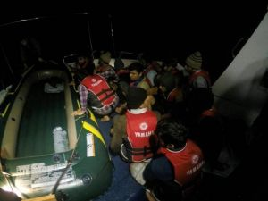 Sahil Güvenlikten Kaçak Operasyonu