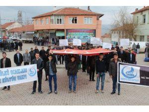 Sivas'ta 'Fırat Yılmaz Çakıroğlu' Yürüyüşü