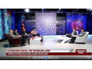 Usta Gazeteciler Türkiye Gündemini Erzurum'dan Yorumladılar