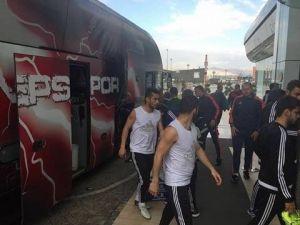 Gaziantepspor Kafilesi Kayseri'de