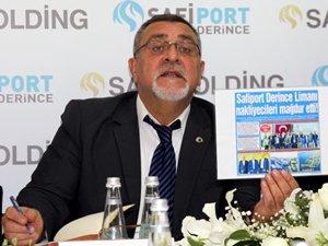 Şeyda Güre: Safiport Derince Limanı'nın iş hacmi günden güne artıyor