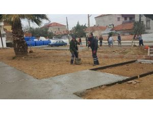 Alaşehir Belediyesi'nden Parklara Önem