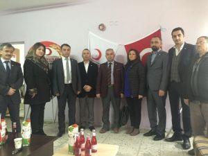 Türk Kızılay'ı Talas Şubesinde Kan Değişimi