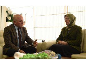 Bakan Ramazanoğlu, Başkan Sekmen'i Ziyaret Etti