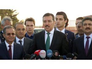 Gümrük Ve Ticaret Bakanı Tüfenkci'nin Basın Toplantısı