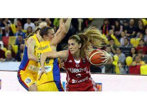 Türkiye, Romanya'yı deplasmanda 56-45 mağlup etti
