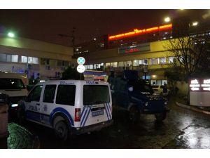 Sarıyer'de polis tarafından vurulan saldırgan öldü