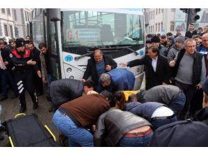 Erzurum'daki Trafik Kazaları MOBESE'de
