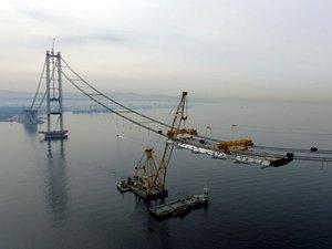 Körfez Geçiş Köprüsü'nde sona yaklaşılıyor