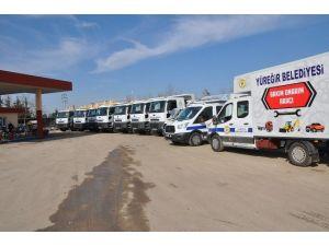 Yüreğir Belediyesi Araç Filosunu Güçlendiriyor