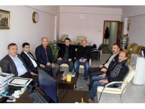 AK Partili Ceylan'dan İHA'ya Ziyaret