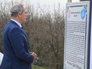 Bursa'da şehitlikler onarılıyor
