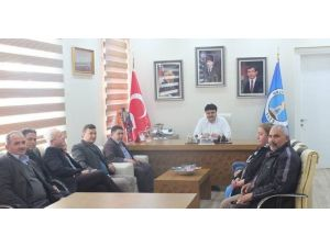 CHP İlçe Yönetimi Başkan Ersoy'u Ziyaret Etti