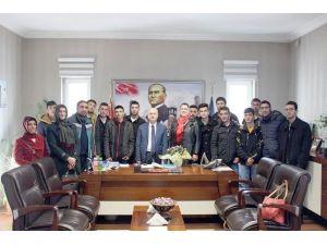 """SMMMO Başkanı Akgüloğlu: """"İşbaşı Eğitimleri Takip Edilmeli"""""""