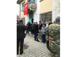 Şehit ateşi Akşehir'e düştü
