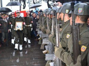 Ordu Şehidini Gözyaşlarıyla Uğurladı