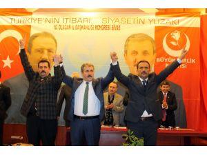 BBP Sivas İl Başkanlığı'na Uğur Bulut seçildi