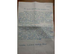 Gümüşhane'den Diyarbakır'a Duygulandıran Mektup