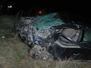 Tekirdağ'da iki otomobil çarpıştı: 5 ölü