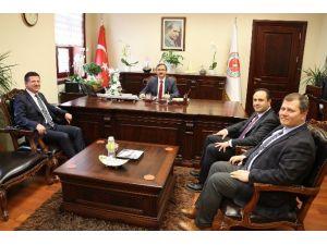 Başkan Subaşıoğlu Ankara'da Girişimlerde Bulundu