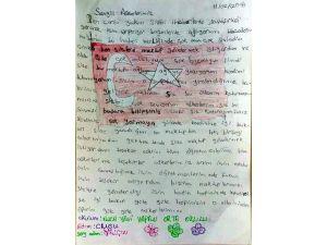 Öğrenciler, güvenlik güçlerine moral mektubu gönderdi