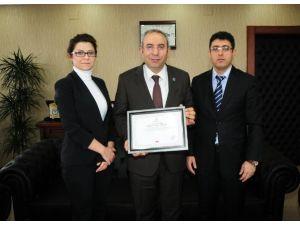 Kızılay Heyetinden Rektör Battal'a Ziyaret