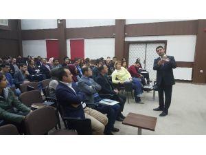 Gökhan Bayram Mardin'de Konuşma Tekniklerini Anlattı