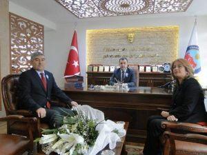Avanos Mal Müdürü Başkan, Kaymakam Eldivan'ı Ziyaret Etti