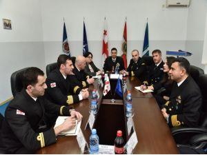 Mayına karşı tedbir gemileri, Batum'da eğitim ve tatbikat yaptı