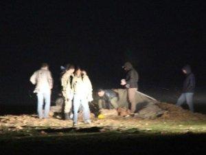 PYD'den PKK'lılara gönderilen cephanelik saman balyalarının altından çıktı