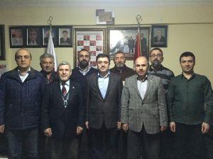AK Parti Yozgat Milletvekili Yusuf Başer, Kızılay Yozgat Şubesini Ziyaret Etti