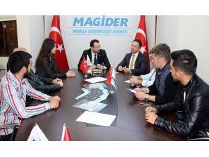 Spor İl Müdürü Duman'dan Magider'e Ziyaret