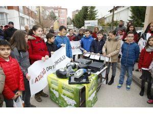Odunpazarı Atık Elektronik Cihazları Topluyor