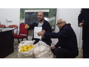 Başkan Tarhan'dan Cerattepe'ye Limonlu Destek