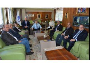 Tekstilciler Taleplerini Başkan Çerçi'ye Anlattı