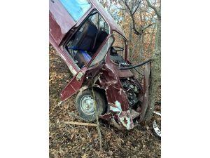 Trafik kazasında baba öldü, oğlu ağır yaralandı