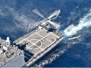 Deniz Kuvvetleri Komutanlığı Dalaman'da tatbikat yaptı