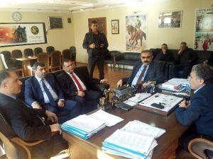 GMİS Yönetimi Çatalağzı Belediyesini Ziyaret Etti