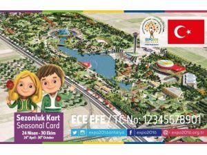 EXPO 2016 Antalya'nın Sezonluk Kartlarına Yoğun İlgi