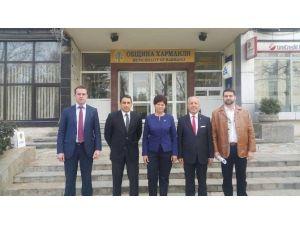Edirne Heyetinden Harmanlı Belediyesi'ne İade-i Ziyaret