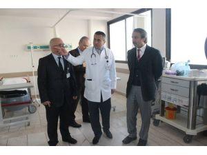 Trakya Üniversitesi Tıp Fakültesi 6 Yataklı Travma Ünitesi Açıldı