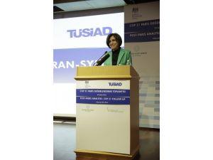 """Tüsiad Başkanı Symes: """"Küresel Isınma Temel Yaşam Kaynaklarımızı Tehdit Ediyor"""""""