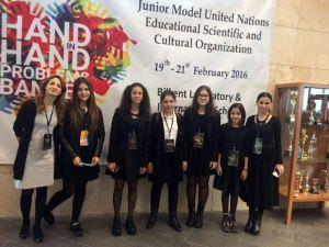 Sanko Okulları Öğrencileri Jmunesco'16 Konferansına Katıldı