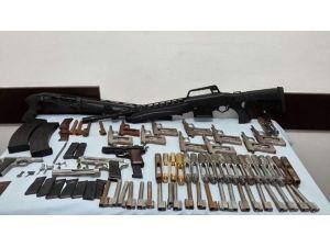 Rize'de Kaçak Silah İmalathanesine Baskın