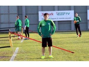Bursaspor, Eskişehirspor maçının hazırlıklarına başladı