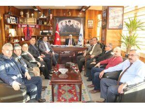 AK Parti Milletvekili Ulupınar, GMİS'i Ziyaret Etti