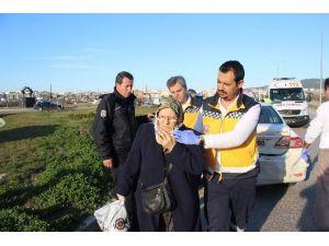 Alkollü Sürücü Polisten Kaçtı, Geri Dönüş Yolunda Aynı Noktada Başka Bir Araca Çarptı