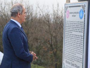 Bursa'da Şehitlikler Ecdada Yakışır Hale Getiriliyor
