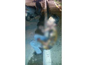 Genci Yanmaktan Polis Kurtardı
