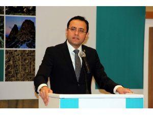 """AK Parti Milletvekili Gizligider, """" İzmir-nevşehir Uçak Seferleri Başlıyor"""""""